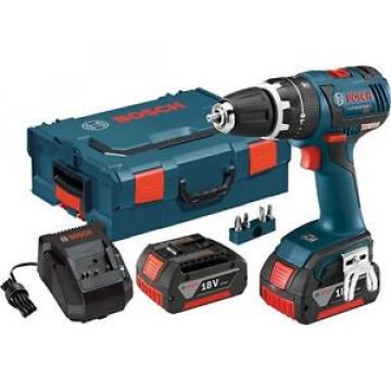 "Bosch HDS182-01L 18-Volt 1/2"" Brushless Cordless Hammer Drill/Driver Kit NEW"
