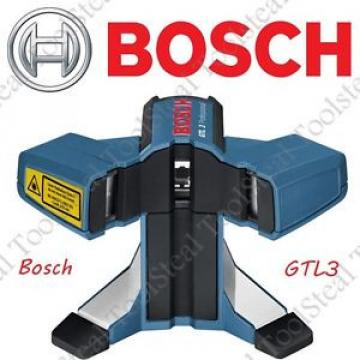 BOSCH GTL3 FLOOR COVERING- WALL TILE  LAYOUT LASER KIT- 65 FT RANGE W/ Warranty!