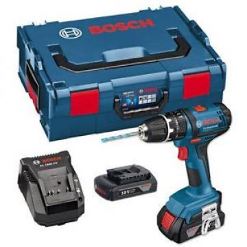Bosch GSB 18-2-LI Plus 18v Combi Drill In L Box + 2 x 1.5ah Li-On Batteries