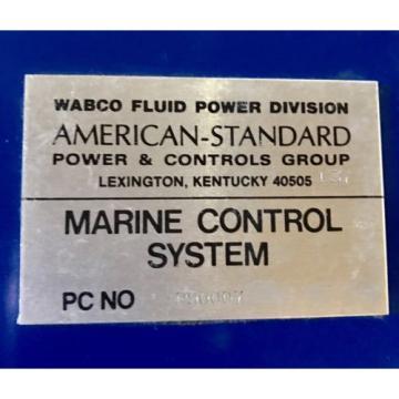 Logic Korea USA Master Control Panel- P90007 American Standard/ Wabco / Rexroth