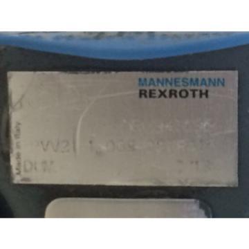 REFURBBED REXROTH HYDRAULIC VANE PUMP NR0941696 PVV21-1-X068-027RA15