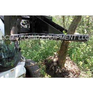 NEW HD TREE & POST PULLER ATTACHMENT Skid Steer Loader Ripper Volvo JCB Komatsu