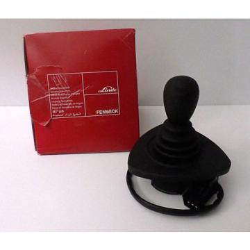 Linde 7919040041 Joystick Black Single Handle Forklift Gated NOS OPEN WORN PKG**