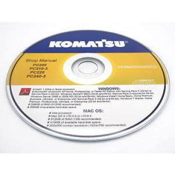 Komatsu PC20MRX-1 Hydraulic Excavator Shop Workshop Repair Service Manual