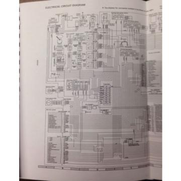 Komatsu PC120-5 PC100-5 excavator Service Shop Manual