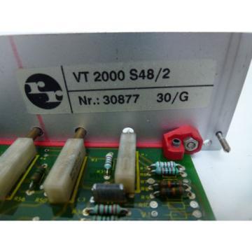 Rexroth Japan Italy VT 2000 S48/2 Prop. Verstärker free delivery