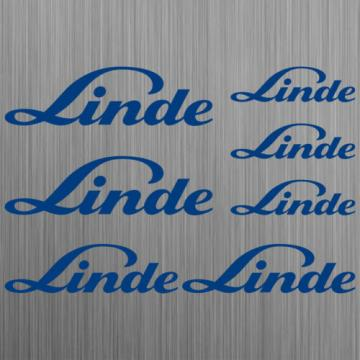 Linde sticker forklift 7 Pieces
