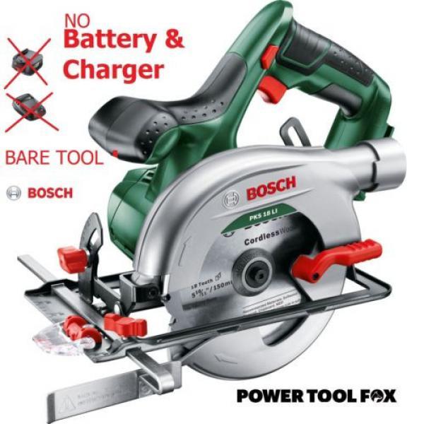- Bosch - PKS 18 Li (BARE TOOL) Cordless Circular Saw 06033B1300 3165140743266.* #1 image