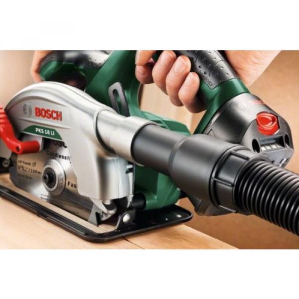 - Bosch - PKS 18 Li (BARE TOOL) Cordless Circular Saw 06033B1300 3165140743266.* #6 image